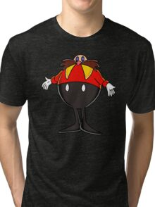 EGGMAN SONIC THE HEDGEHOG CLASSIC VIDEO GAMES  Tri-blend T-Shirt