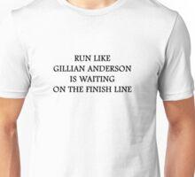 Run Like Gillian Anderson Unisex T-Shirt