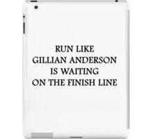 Run Like Gillian Anderson iPad Case/Skin