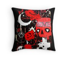 Love and Death  Throw Pillow