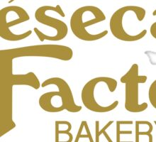 The Cheesecake Factory - Gold Bakery Variant Sticker