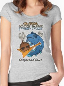 The Living Fossil Posse Women's Fitted Scoop T-Shirt