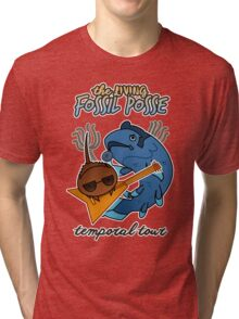 The Living Fossil Posse Tri-blend T-Shirt