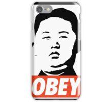 OBEY - KIM JONG iPhone Case/Skin