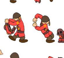 Pyro & Soldier Sticker