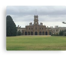 Mansion at Werribee Canvas Print