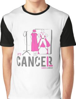 Let's Cancel Breast Cancer Graphic T-Shirt