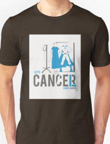 Let's Cancel Prostate Cancer Unisex T-Shirt