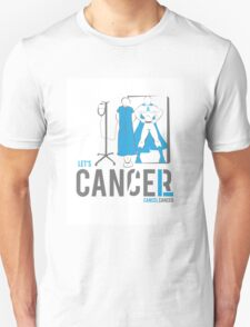 Let's Cancel Prostate Cancer Unisex T-Shirt