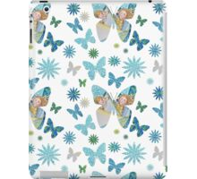 Kids Pattern butterflies and sailing iPad Case/Skin