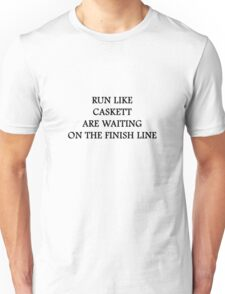 Run like Caskett Unisex T-Shirt
