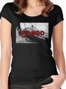 The D is silent Women's Fitted Scoop T-Shirt