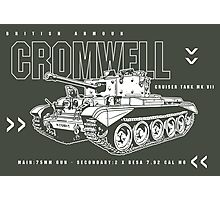 Cromwell Tank Mark VII Photographic Print