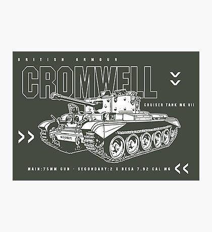 Cromwell Tank Mark VII Photographic Print