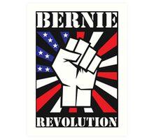 Bernie Sanders Revolution Art Print