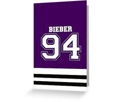 Bieber 94 Greeting Card