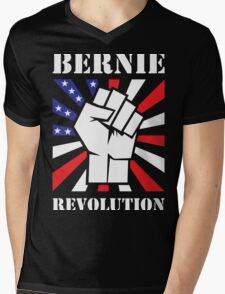 Bernie Sanders Revolution Mens V-Neck T-Shirt