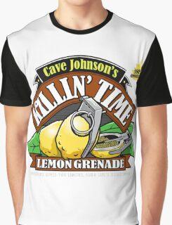 Cave Johnson Lemons Graphic T-Shirt