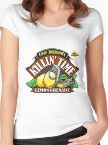 Cave Johnson Lemons Women's Fitted Scoop T-Shirt