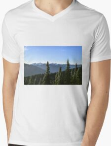 Hurricane Ridge, Olympic National Park, Washington Mens V-Neck T-Shirt