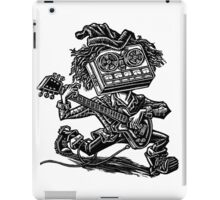 Eight Track Recorder Guitar Player iPad Case/Skin