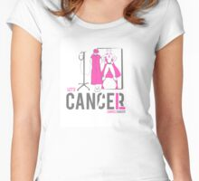 Let's Cancel Breast Cancer Women's Fitted Scoop T-Shirt