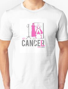 Let's Cancel Breast Cancer Unisex T-Shirt