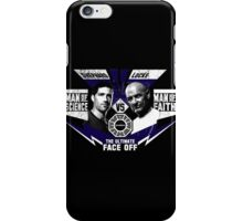 Man of Science v Man of Faith iPhone Case/Skin