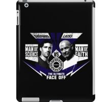Man of Science v Man of Faith iPad Case/Skin