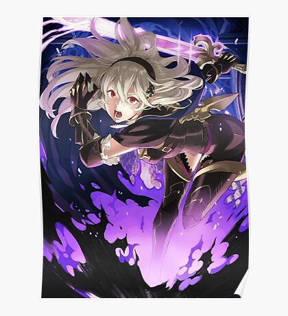 Fire Emblem Fates - Corrin (Dark Blood) Poster