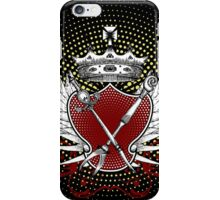 Knife and Fork Coat of Arms iPhone Case/Skin