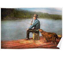 Fishing - Booze hound 1922 Poster
