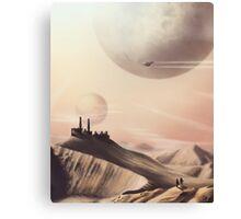Sci Fi Desert Canvas Print