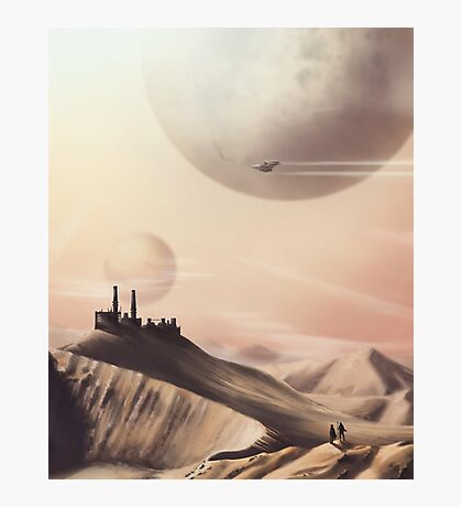 Sci Fi Desert Photographic Print