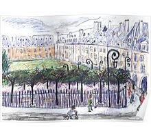 Place des Vosges from Number 23 Poster