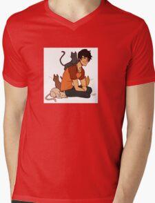 Pussy  Magnet Mens V-Neck T-Shirt