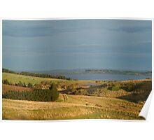 Joe Mortelliti Gallery - Sunrise, Lake Connewarre, Bellarine Peninsula, Victoria, Australia. Poster
