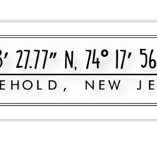 Freehold, New Jersey Sticker