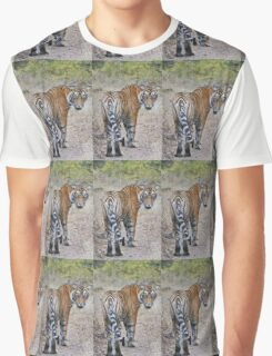 Young Male Tiger Graphic T-Shirt