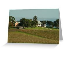 Joe Mortelliti Gallery - Spray Farm homestead, Bellarine Peninsula, Victoria, Australia. Greeting Card