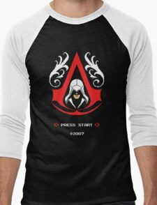 Assassin's Pixels Men's Baseball ¾ T-Shirt