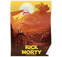 Rick and Morty - Star Wars Poster