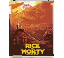 Rick and Morty - Star Wars iPad Case/Skin