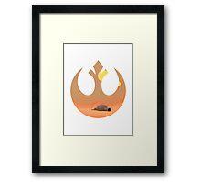Star Wars - Rebel Tatooine Base Framed Print