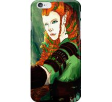 Encounter in the Woods iPhone Case/Skin