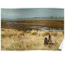 Joe Mortelliti Gallery - Beacon Point view to Queenscliff, Bellarine Peninsula, Victoria, Australia. Poster