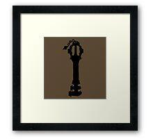 Earthshaker- Black Framed Print
