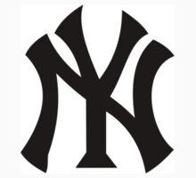 New York Yankees One Piece - Short Sleeve