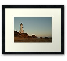 Joe Mortelliti Gallery - Dusk, Point Lonsdale lighthouse, Bellarine Peninsula, Victoria, Australia. Framed Print