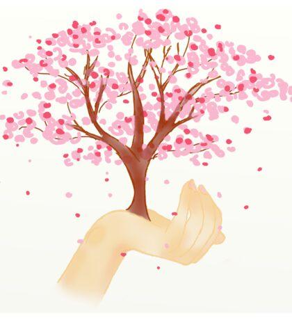cute cherry tree Sticker